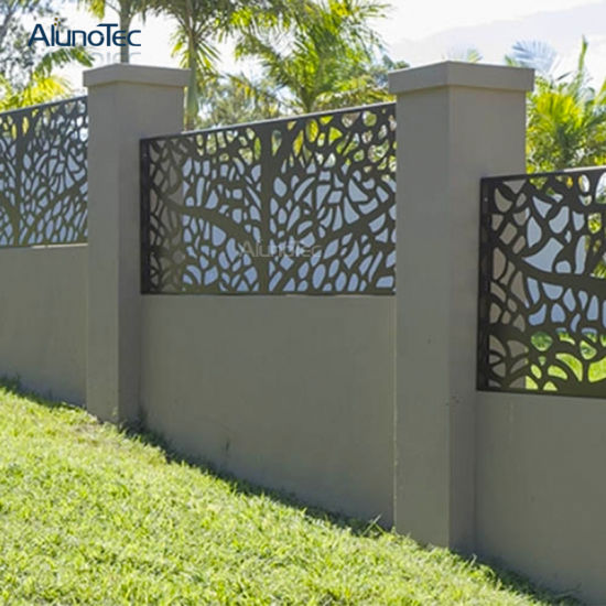 China Low Price Perforated Metal Fence Facade For Garden China