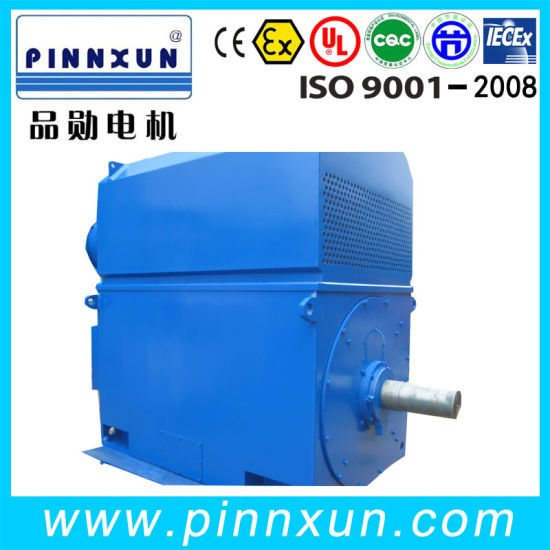 Yrkk High Voltage Slip Ring Electric Motor pictures & photos