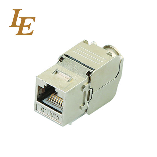 CAT6A RJ45 UTP/FTP Keystone Jack pictures & photos