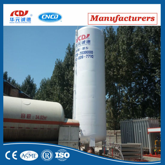Vertical Cryogenic Liquid Oxygen Nitrogen Argon Tank pictures & photos
