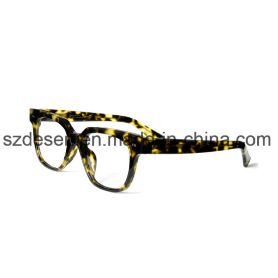 Low Price China Wholesale Leopard Pattern Eyeglass Frame Optical ...