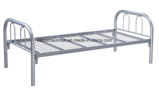 High Quality and Cheap Heavy Duty Metal Single Bed pictures & photos