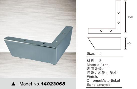 L Style Chrome Furniture Legs, Sofa Legs