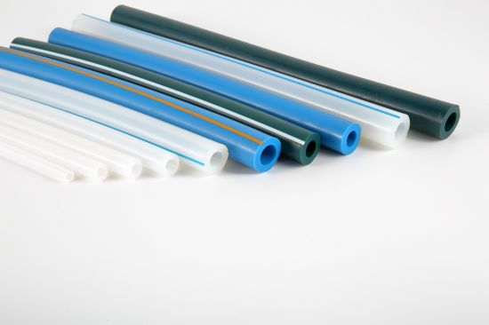 FDA Platinum Cured Rubber Tube Water Pipe Silicone Rubber Hose for Milk Industry