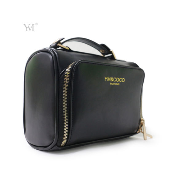 New Style Elegant Ladies Fashion PU Toiletry Set Bag pictures & photos