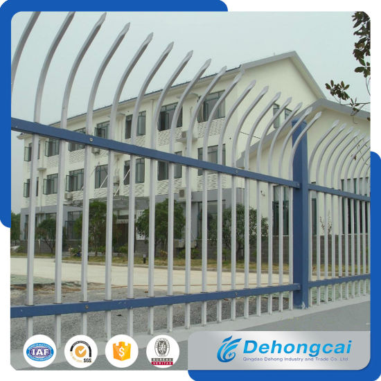 High Quality Powder Coated Residential Wrought Iron Fencing pictures & photos