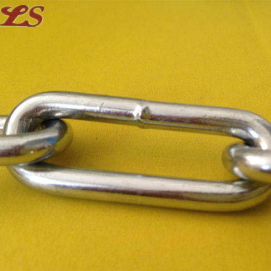 DIN5685c Iron Long Link Chains for Protection pictures & photos