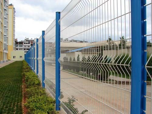 China Manufacturer PVC Coated Welded Wire Mesh Fence Chain Link Fence Garden Fence