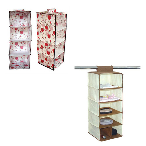 Eco-Friendly Storage Organizer with Nonwoven Hanging Closet Storage Organizer-Customized pictures & photos