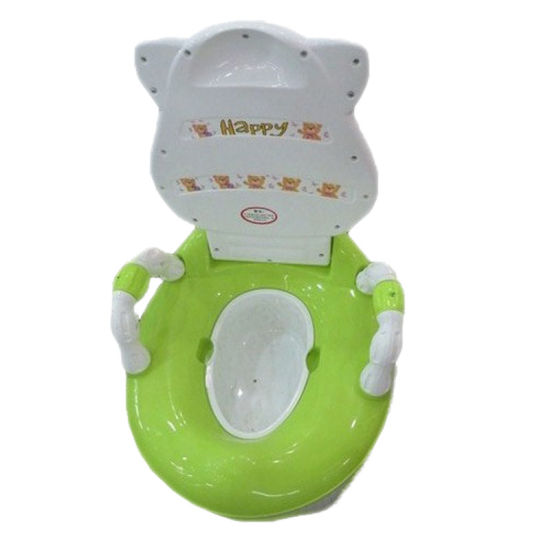 Lovely Plastic Baby Potty Seat with Armrest (TS-1602) pictures & photos