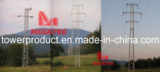 Megatro 22kv Lattice Transmission Steel Tower (MGP-22T001) pictures & photos
