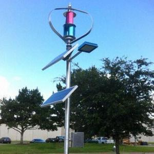 200W Vertical Wind-Solar Hybrid System for Street Light (200W-5kw) pictures & photos