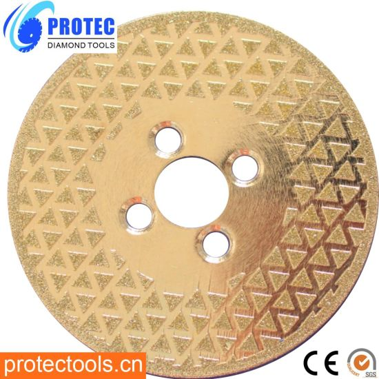 115mmelectroplated Diamond Saw Blade for Stones/Diamond Saw Blade/Diamond Cutting Blade/Cutting Blade/Diamond Blade/Cutting Disc/Diamond Tools/Cutting Tool