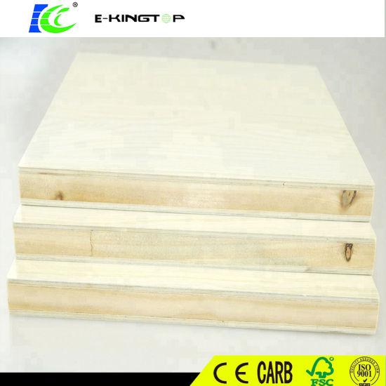 Customized Furniture or Decoration Best Price Melamine Blockboard 1220X2440mm