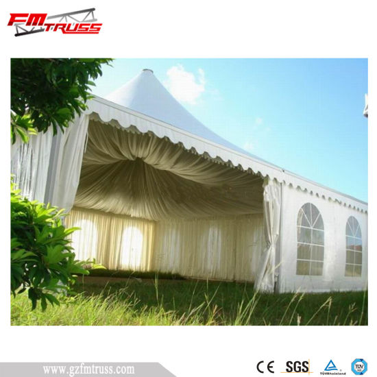 10X10m White PVC Garden Pagoda Tent for Sale pictures & photos