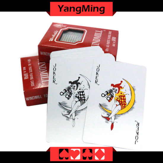 100% Plastic Texas Holdem Poker Playing Cards Japan Import for Casino Gambling Games (YM-PC08) pictures & photos