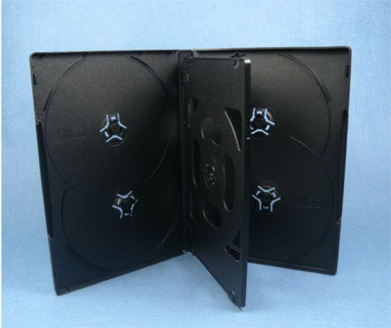 DVD Box DVD Case DVD Cover 14mm for 6 Black