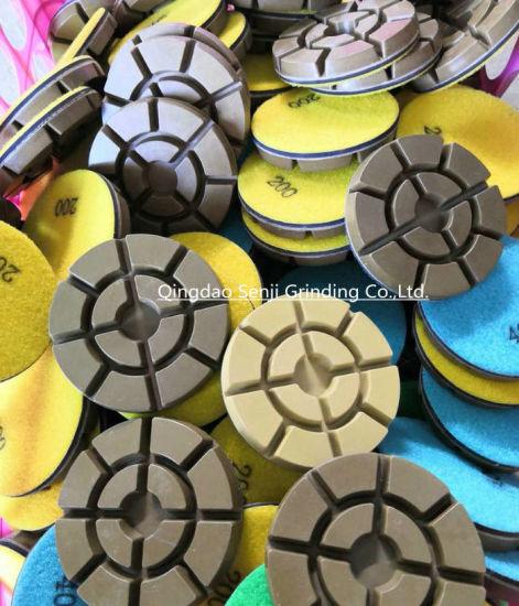 Wet/Dry Concrete Diamond Floor Polishing Pad Grinding Disc