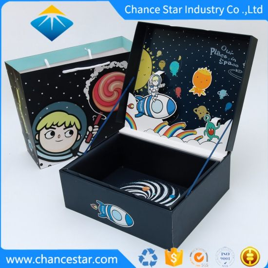 Luxury Color Printed Paper Cufflink Cardboard Gift Packing Box