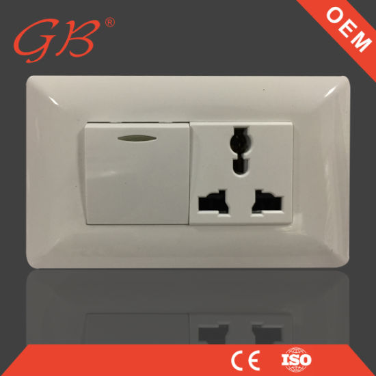 China Hot Sale South American Electrical Socket Wall Switch Socket ...