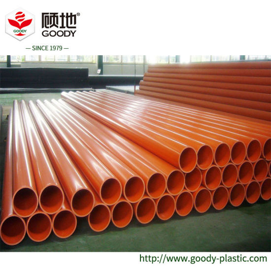 Large Diameter PE Plastic Power Cable Protection Sleeve Pipe on Sale