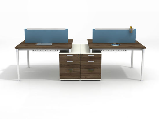 Hot Office Workstation Modular Modern Table For 2 4 6 8 Person
