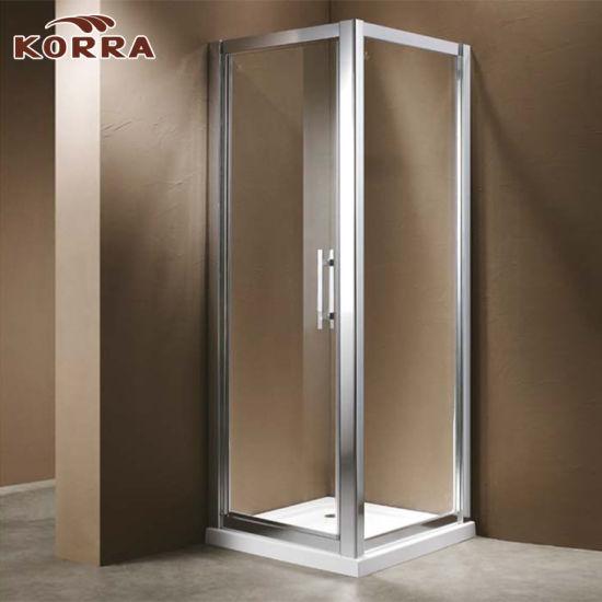 China Corner Glass Sliding Door Shower Enclosure - China Shower ...