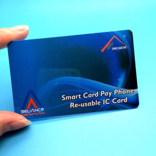 Customized Mini Smart SLE4442 Contact Card for Vending Machines pictures & photos