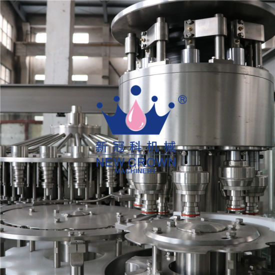 High Quality Cheap Isobaric Automatic 3-in-1 Liquid Beer Bottle Filling Machine Factory pictures & photos