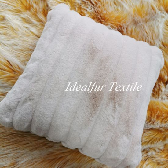 Faux Fur Pillow Case Throw Pillows For Home Decor China Pillow And Pillow Cover Price Made In China Com