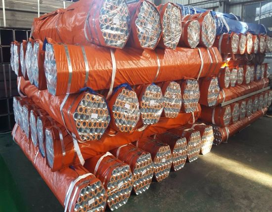 Youfa Brand BS1387 Threaded Ends Hot DIP Galvanized Steel Pipe pictures & photos