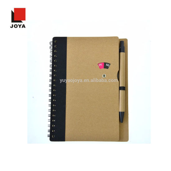 2019 Spiral Dairy Promotional Gift Notebook with Pen pictures & photos