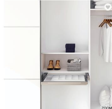 Wardrobe Pull Out Mirror Pivoting Mirror Closet Hardware Accessories