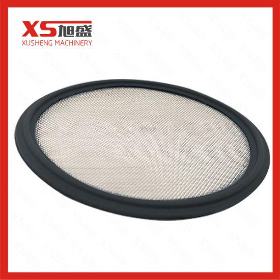 2 100 Mesh PTFE Sanitary Tri-clamp Screen Gasket Pharmaceutical Grade Mesh Gasket