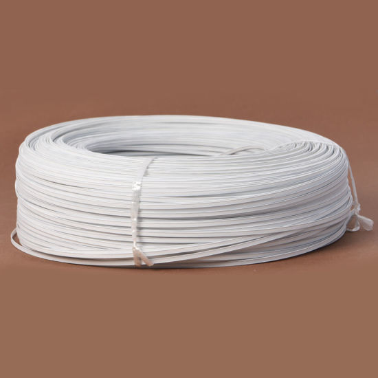 1mm Thickness 5mm Double Core Wires Plastic Nose Wire Bridge Strip for Face Mask pictures & photos