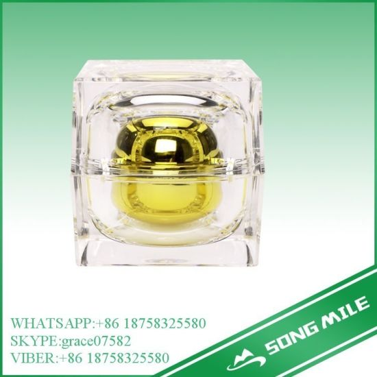 Plastic Acrylic Packaging Jar Cosmetic Container pictures & photos