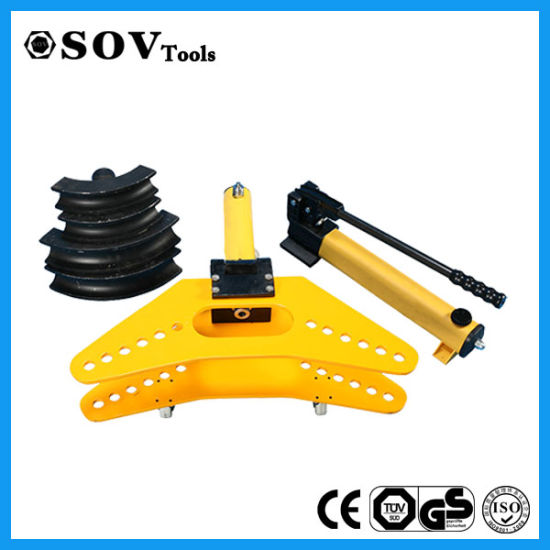 Hydraulic Hand Pipe Bender with Hydraulic Pump