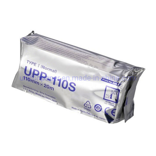 Echographie Papier Upp-110s Upp-110hg Thermal Paper for Sony Ultrasound Machine