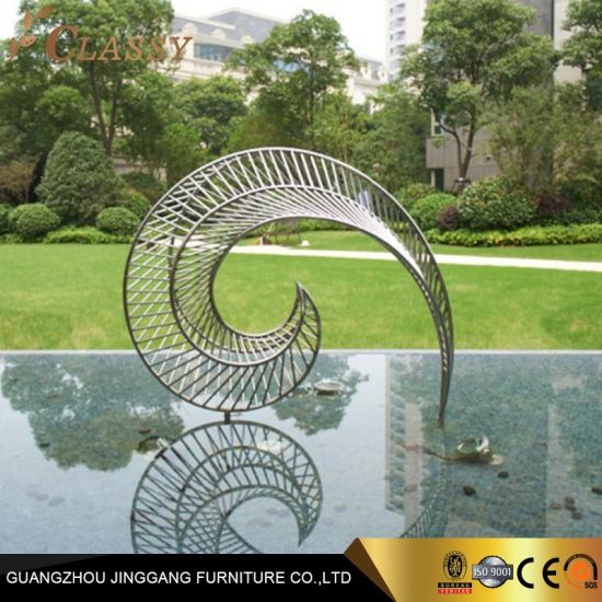 Outdoor 304 316 Stainless Steel Statue Sculpture for swimming