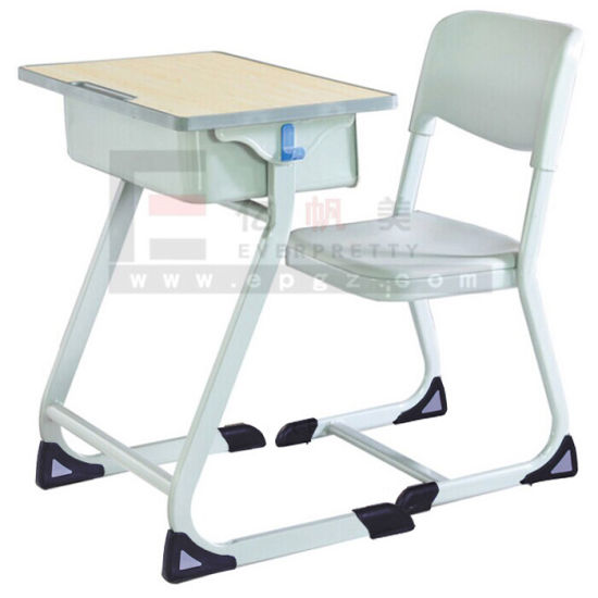 New Design Wholesale Cheap School Adjustable Furniture School Desk and Chair, Study Table