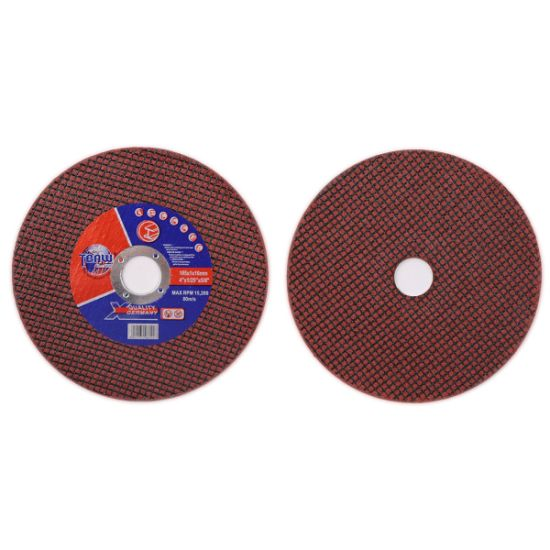 "105X1X16mm 4"" Double Net Cut off Wheel for Metal Polishing Cutting Discs Factory"