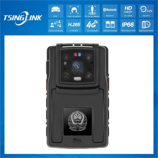 16 Megapixel 4K 1080P 64GB Recorder IP68 GPS Positioning Police Body Camera