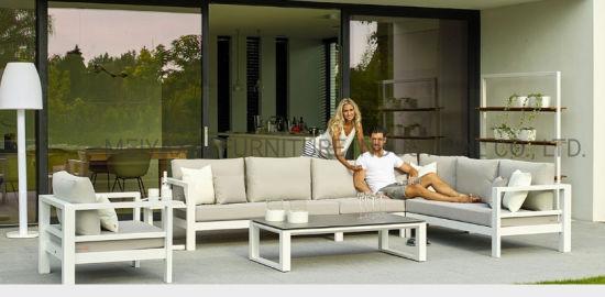 Luxury Aluminum Outdoor Sofa Combiantion Factory Wholesale Furniture