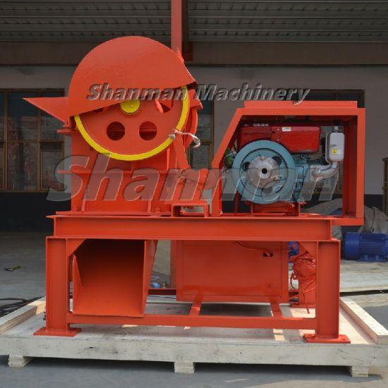 PE150X250 Diesel Engine Drive Jaw Crusher Stone Rock Cone Hammer Impact Sand Making Machine