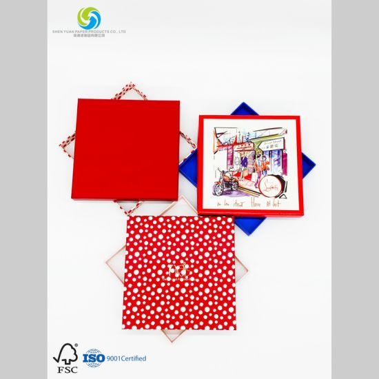 Customized Clothing Box for Packaging Silken Pajamas with Coated Paper