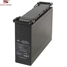 Front Terminal 12V 100ah Gel Battery Deep Cycle Solar Gel Battery Rechargeable Maintenance Free