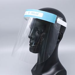 Safety Clear Protect Face Shield Plastic with Certificetes