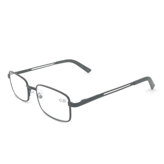 Metal Frame Eyewear Custom Logo Reading Glasses Eye Glasses