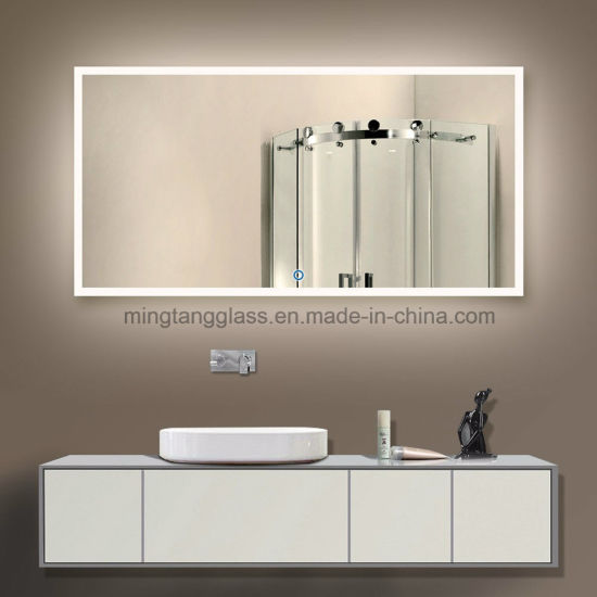 Luxury ETL Approved Hotel LED Lighted Illuminated Bathroom Mirror
