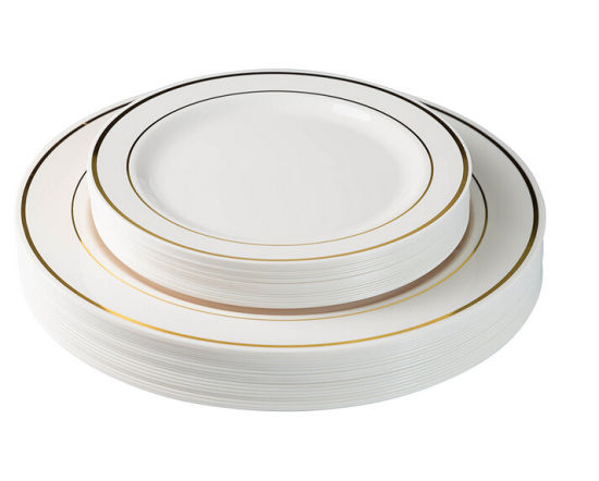 Heavyweight 7 5 China Like Plates White Pack Of 24  sc 1 st  10000+ Best Deskripsi Plate 2018 & Plastic Dinner Plates That Look Like China - Best Plate 2018